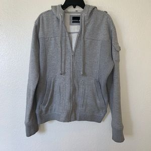 Foreign exchange zip up jacket sweater size M